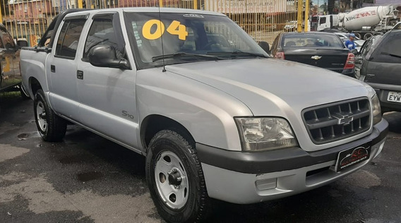 Gm S10 2.4 Mpfi Cab. Dupla Completa 2004