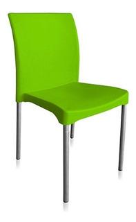 Sillas De Plastico Para Comedor.Sillas De Plastico Color Verde Comedor Hogar Muebles Y