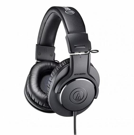 Fone De Ouvido Audio-technica Ath-m20x - Preto