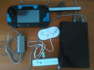 Wii U Como Nuevo Oferton Con 3 Juegos Originales