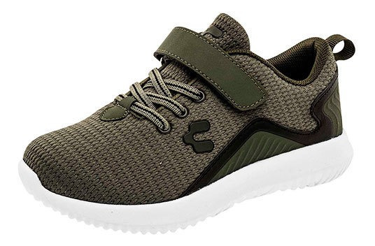 Charly Sneaker Deportivo Verde Textil Niño N09009 Udt