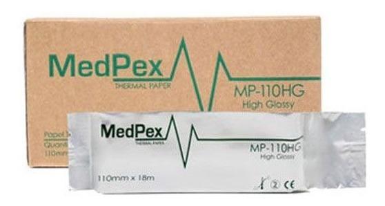 Papel Termo Sensível Mp-110hg Medpex Produto Original