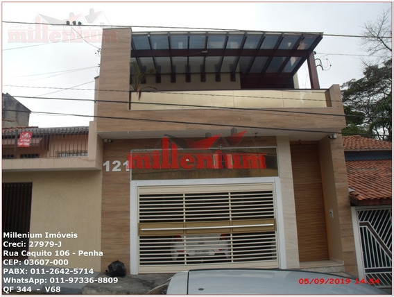 Casa Para Venda, 4 Dormitórios, Penha / Vila Esperança - São Paulo - 344