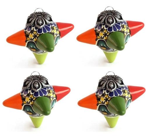Imagen 1 de 2 de  Set Esferas Piñata-colores. Alonso Luis. Cerámica Talavera