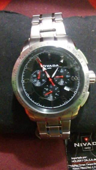 Reloj Nivada Swiss Para Caballero