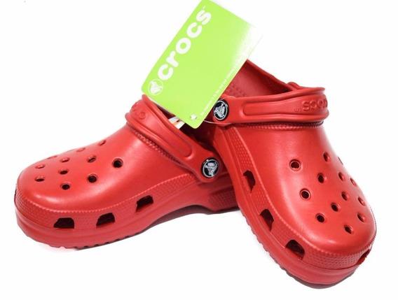 Crocs Classic Rojo Unisex