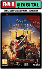 Age Of Empire 3 Complete Collection - Envio Digital