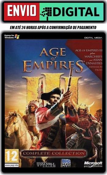 Age Of Empire 3 Complete Collection - Envio Digital