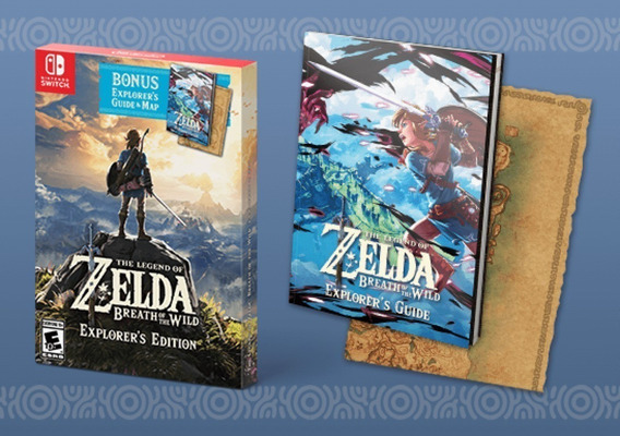 The Legend Of Zelda Breath Of The Wild Explorer Edition Novo