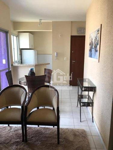 Apartamento Com 1 Dormitório À Venda, 66 M² Por R$ 210.000,00 - Vila Ana Maria - Ribeirão Preto/sp - Ap3555