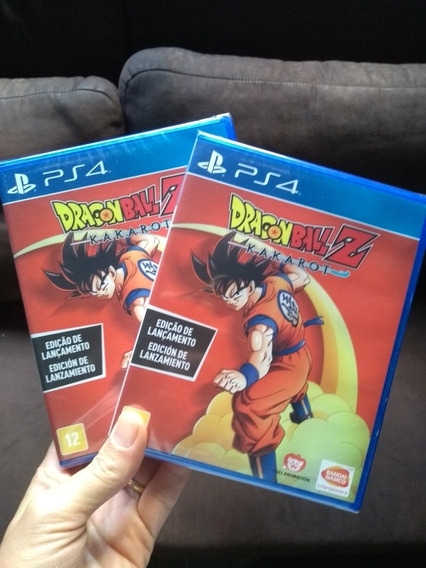 Dragon Ball Z Kakarot Ps4 Mídia Física Lacrado