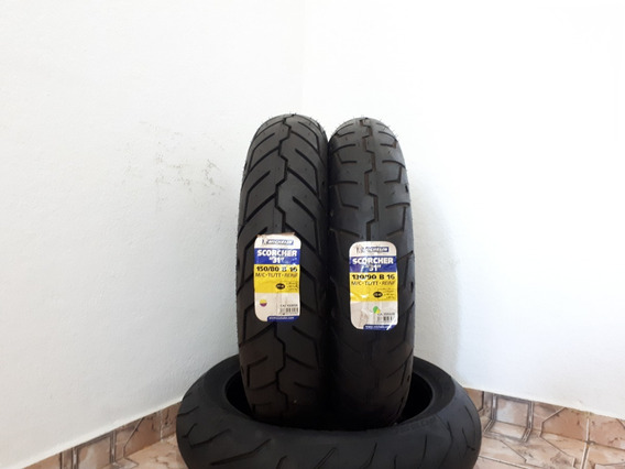 Pneu Michelin Scorcher 31 130/90-16 150/80-16 Softail Slim