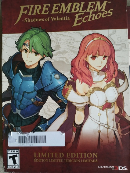 Fire Emblem Shadows Of Valentia - Echoes Limited Edition 3ds