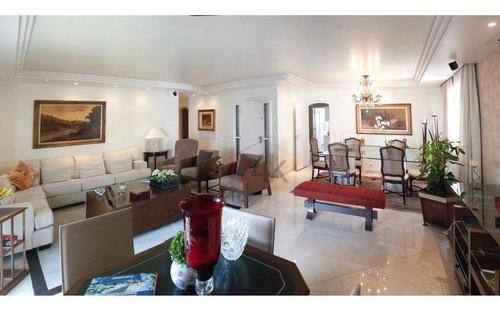Imagem 1 de 19 de Apartamento À Venda, 203 M² - Campo Belo - São Paulo/sp - Ap3717