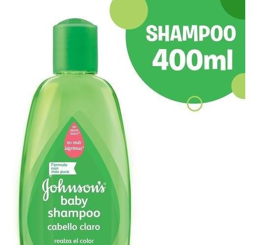 Shampoo Johnson´s Baby Cabello Claro 400ml