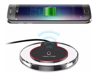 Carregador Sem Fio Wireless Qi Fast Charger Samsung iPhone