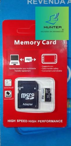 Cartão De Memória Micro Sd U3 4k Gs 16gb + Leitor