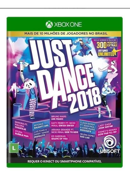 Just Dance 2018 Xbox One Original Mídia Física
