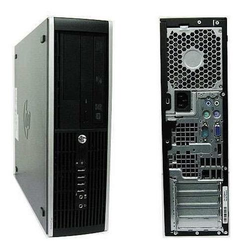 Cpu Hp Completa 8100 Core I5 4gb Hd 500 + Monitor 17