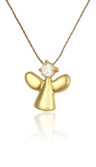 Anjo Banhado À Ouro
