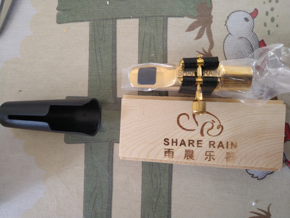 Boquilha Metal Sax Alto N*8 Share Rain
