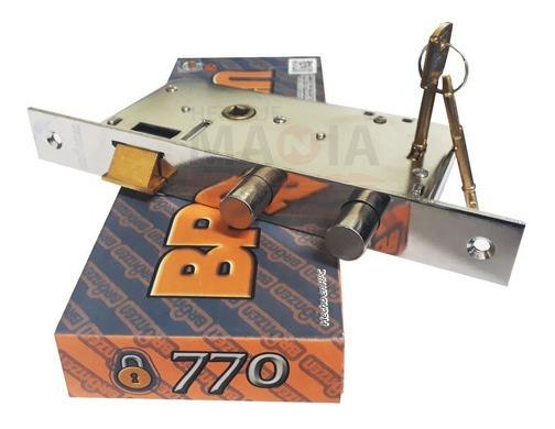 Cerradura Seguridad Puerta Bronzen 770 Simil Trabex 2107