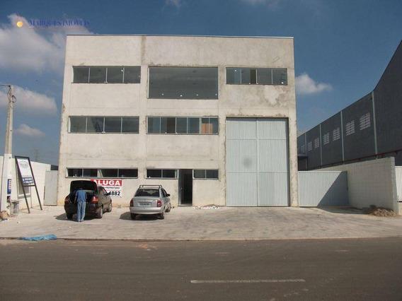 Galpão Industrial Para Venda E Locação, Comercial Vitória Martini, Indaiatuba - Ga0555. - Ga0555