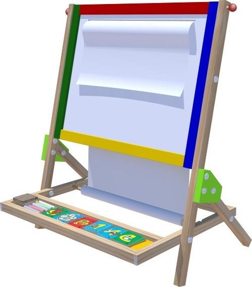 Lousa Quadro Didático Brinquedos Educativos Desenhar Pintar