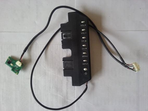 Teclado + Sensor Tv Aoc L26w831a - 2778