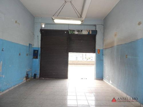 Imagem 1 de 4 de Salão Para Alugar, 40 M² Por R$ 2.200,00/mês - Centro - Santo André/sp - Sl0405