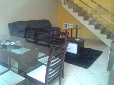 Casa Com 3 Dormitórios À Venda, 96 M² Por R$ 550.000 - Vila Voturua - São Vicente/sp - Ca0076
