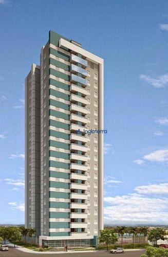 Apartamento À Venda, 78 M² Por R$ 595.000,00 - Jardim Petrópolis - Londrina/pr - Ap0918