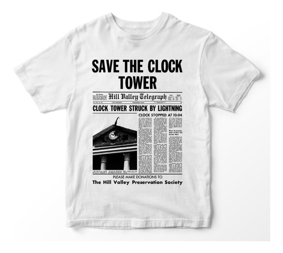 Nostalgia Shirts- Save The Clock Tower