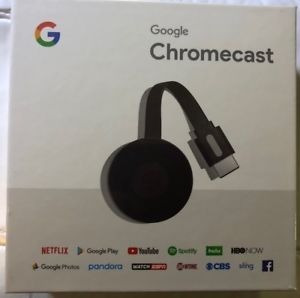 Google Chromecast 2018 3ra Gen Smart 100% Genuino Sellado