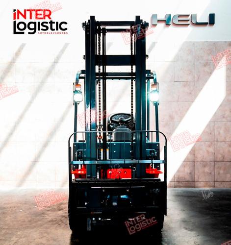 Autoelevador Eléctrico Heli Interlogistic 2500kg Nuevo 0 Km