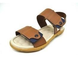 Sandalia Social Infantil Menino Com Velcro