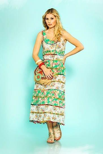 Vestido De Fiesta Dama Boho Tipo Hindu Bohemio. Único! Importado