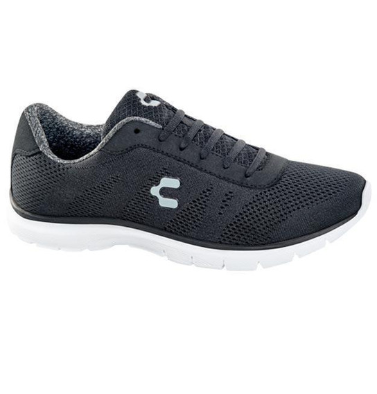 Tenis Junior Marca Charly Mod 102194 Negro/blanco