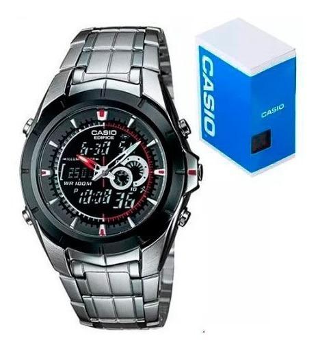 Reloj Casio Edifice Efa119 Termometro Alarmas Cronómetro