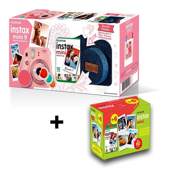 Câmera Instax Mini 9 Entrega Rápida + Novas Cores