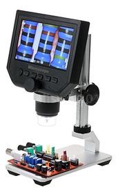 Microscópio Eletrônico Digital Vídeo 600x 4.3 Lcd 3.6mp