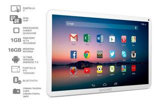 Tablet Gadnic 7 Pulg Con Chip Celular Dual Sim 3g + Accesor
