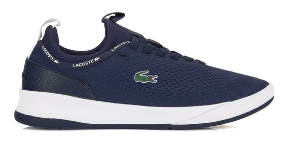 Tênis Lacoste Spirit 2.0 Azul Marinho - Loja Física