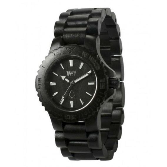 Relógio De Madeira Wewood - Date Black - Wwd02