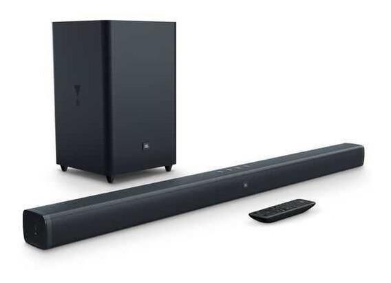 Soundbar Jbl Com 2.1 Canais E 300w - Jbl Bar 2.1 Surround