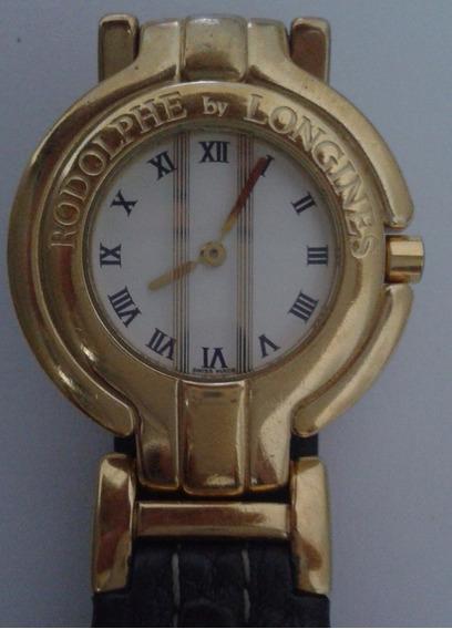 Relógio Longines Suiço - Folhado À Ouro