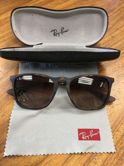 Oculos De Sol Ray-ban Chris - Original