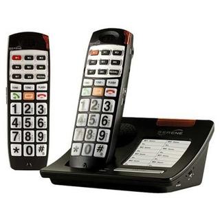 Serene Dect 6 Teléfono Inalámbrico Amplificado Con Auricula