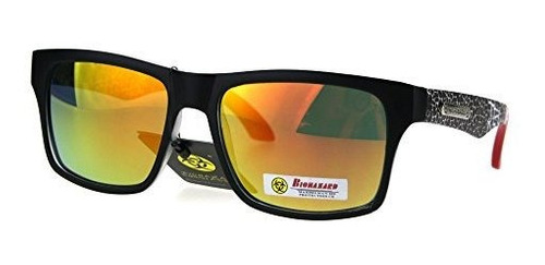 Unisex Sunglasses & Sunglasses Accessories Unisex Clothing, Shoes & Accessories Biohazard Sunglasses Matted Rectangular Frame Unisex Skater Shades