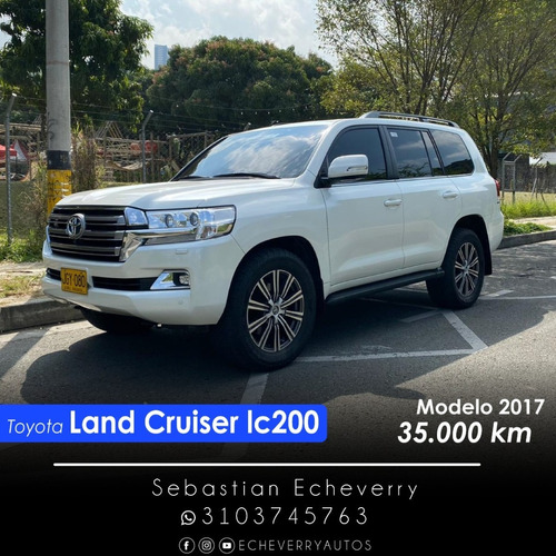 Toyota Land Cruiser 200 2017 4.6 Imperial Fl